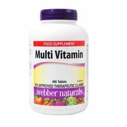 Webber Naturals Multi Vitamins 400 Tablets