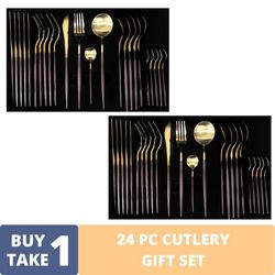 BUY1TAKE1 - 24 PC CUTLERY GIFT SET