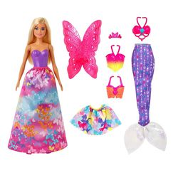 Barbie Dreamtopia Fantasy Dress-Up Set (Blonde)