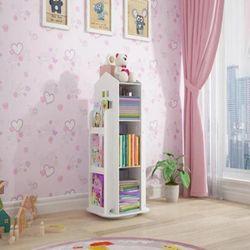 Lorwyn Kids Rotating Bookshelf