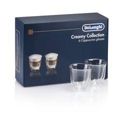 DeLonghi Double Wall Cappuccino Glass (Set of 6)