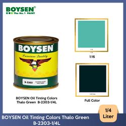 BOYSEN Oil Tinting Colors Thalo Green  B-2303-1/4L