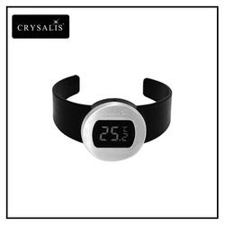 CRYSALIS Premium Wine Accessory Wine Lovers Digital Wine Thermometer Large LCD Display