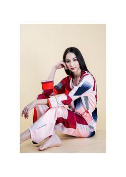 Intissimo Aubrey Silk Long Pyjama