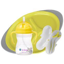 Tickled Babies B.Box Feeding Set - Lemon Sherbet