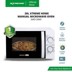 XTREME HOME 20L Manual Control Microwave Oven (XMO-20MS)