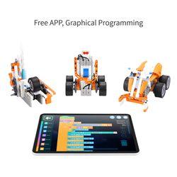 Apitor SuperBot DIY 18-in-1 Programmable STEM Educational Robot Kit