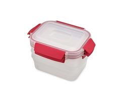 Joseph Joseph Nest Lock 3 Piece Container Set Red/81083