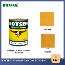 BOYSEN Oil Wood Stain Oak B-2708-4L
