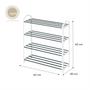 Nest Design Lab 4 Layer shoe rack