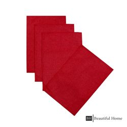 Beautiful Home Plain Fabric Placemat Set of 4