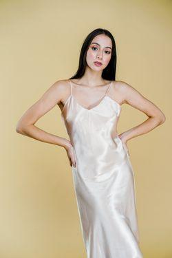 Intissimo Ivy (Champagne) Silk Dress