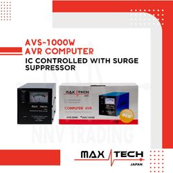 Maxtech Computer AVR (AVS-1000W) IC Controlled with Surge Suppressor