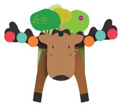 Oribel Vertiplay Goofy Moose Balancer