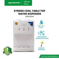 XTREME COOL Table Top Water Dispenser (XWD300W)