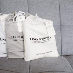 "Bamboo Luxury Pillowcase (Set of 2) - King 20x40"""