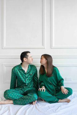 Intissimo-Alexander Sleepwear And Pajama Silk Set For Men