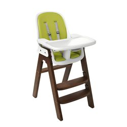 Tickled Babies Oxo Tot Sprout High Chair - Green/Walnut