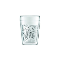 BODUM CANTEEN OUTDOOR DOUBLE WALL TUMBLER (2pcs),0.25L,8oz,TRANSPARENT