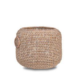 Calfurn White Basket with Ear Handle