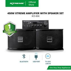 XTREME 450W Amplifier with Speaker Set (XCS-850)
