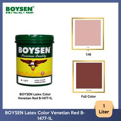 BOYSEN Latex Color Venetian Red B-1477-1L