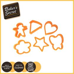 BAKER'S SECRET 6Pack of Cookie Cutters 1119236