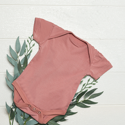 BabyStudio Organic Bamboo Short Sleeve Onesie