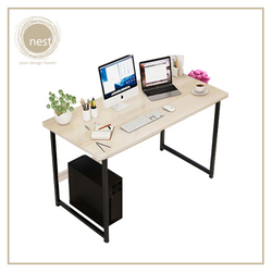 NEST DESIGN LAB  Premium  Heavy duty  Durable Working Desk 100 x 48 x 118 cm Maple Amazing Gift Idea For Any Occasion!