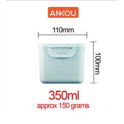 Ankou Multifunction Airtight Mini Milk Storage 350ml Green