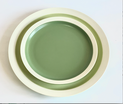 Loveramics Er-go Green Salad Plate set of 7 pcs