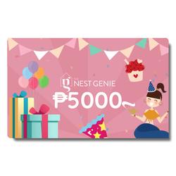 Php5,000 Genie E-Gift Card