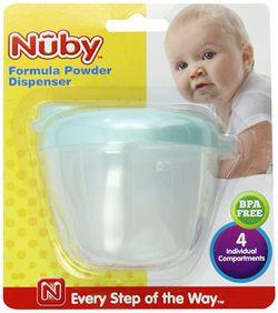 Nuby Powder Dispenser 4 compartment