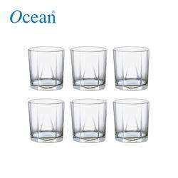 Ocean Glassware Pyramid Tumbler 9oz Set of 6