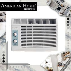 American Home AHAC-5019MNT Airconditioner Window type Mechanical Control 0.6HP