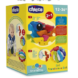 Chicco 2 in 1 Build a Ball