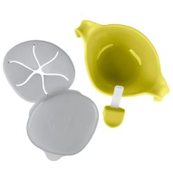 Tickled Babies B.Box Bowl & Straw - Lemon Sherbet