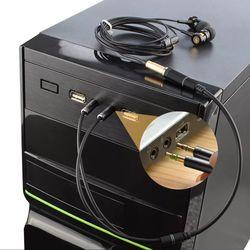 Optimus 3.5mm Audio Mic Splitter Cable