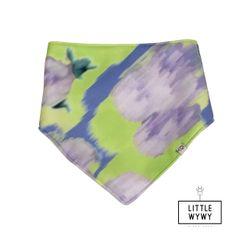 Little Wywy Bandana Bib - Neon