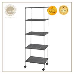 NEST DESIGN LAB Premium 3L Multi-purpose Shelf Kitchen Organizer 5 Layer