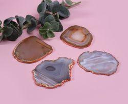 O&M Earth Agate Coasters