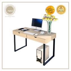 NEST DESIGN LAB Premium  Heavy duty  Durable Working Desk 120 x 64 x 120 cm Maple