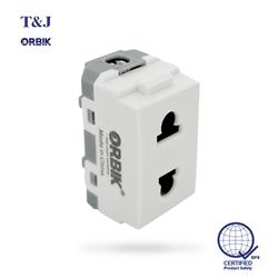 T&J ORBIK W8416U 2 Pin Outlet