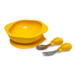 Marcus and Marcus Toddler Meal Time Set - Giraffe