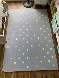 Haenim XL Geo Mat (Gray Bear)