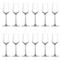 Lucaris Shanghai Soul Grappa Glass 3oz Set of 12