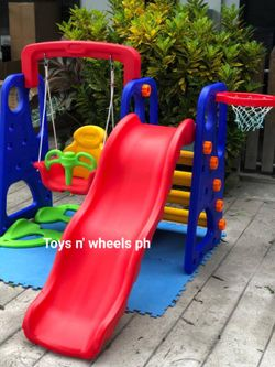 Toys n' Wheels 3in1 Slide Set