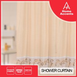 Home Accents Shower curtain Bath Fresco HASC 5872