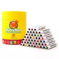 Joan Miro Washable Markers -Baby Roo 48 Colors