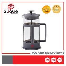 SLIQUE Premium Borosilicate Glass French Press 1L Coffee Lovers Modern Italian Design Amazing Gift Idea For Any Occasion!